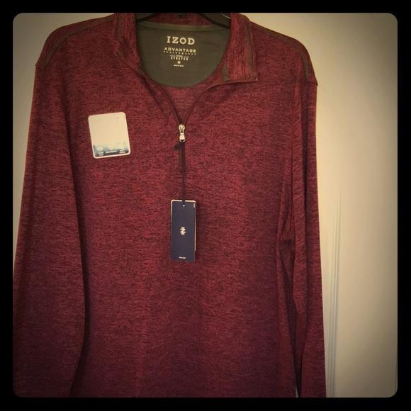 154db5cb Izod Shirts | Mens Advantage Performance Long Sleeve | Poshmark
